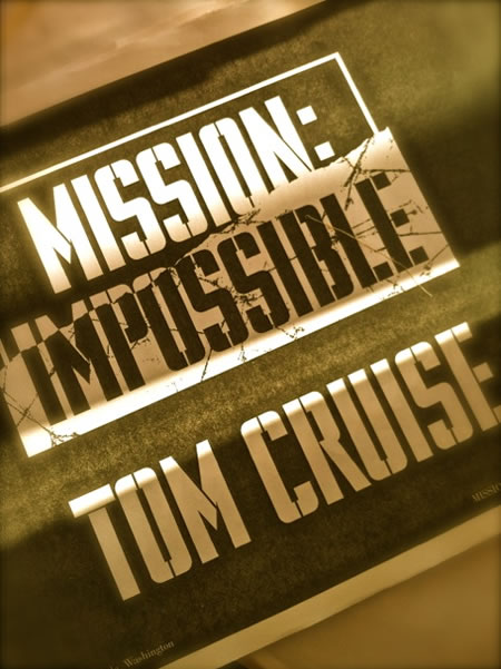 Designing Impossible Missions: Hand-Built Titling Fonts in Movie Brand Identity for Tom Cruise