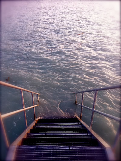 Flow | The Tides, the River, the Sea, the Stairs